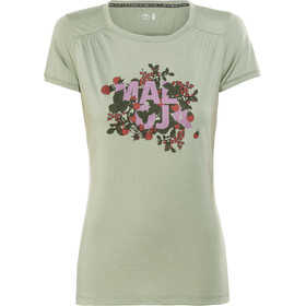 Maloja HalfingM. Multi - Camiseta manga corta Mujer - verde/Multicolor